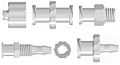 Platic Luer Fittings